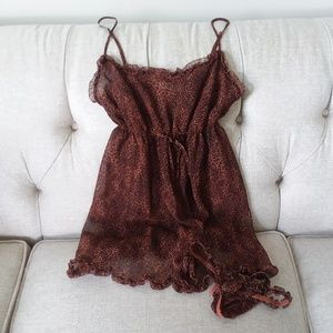 VS Chemise with matching Robe